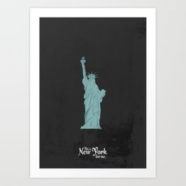 "This is New York for me. ""She"" Art Print"