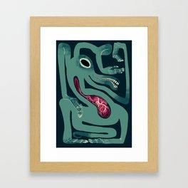 Gator Framed Art Print