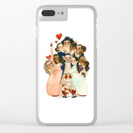 Hamilton Hug Clear iPhone Case