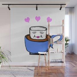 Marshmallow love Wall Mural