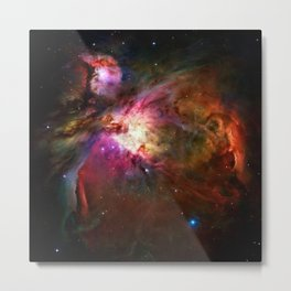 Orion Nebula Deep Space Telescopic Photograph Metal Print