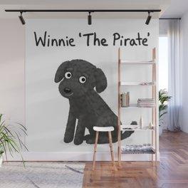 "Custom Dog Art ""Winnie"" Wall Mural"
