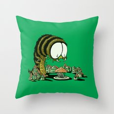 Huuungry! Throw Pillow