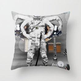 Space Fashion Throw Pillow