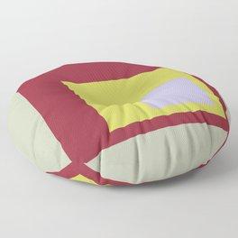 Color Ensemble No. 8 Floor Pillow