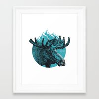 alaska Framed Art Prints featuring Alaska by Krikoui