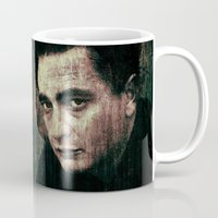 johnny cash Mugs featuring Cash by Sirenphotos
