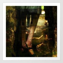 Breakaway. Art Print