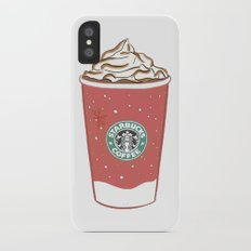 Christmas Design Starbucks  Slim Case iPhone X