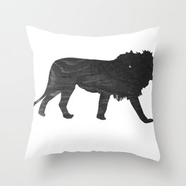 Lion (The Living Things Series) Throw Pillow