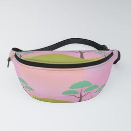 African Sunrise Fanny Pack
