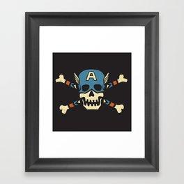 Captain 'Jolly' Rogers  Framed Art Print