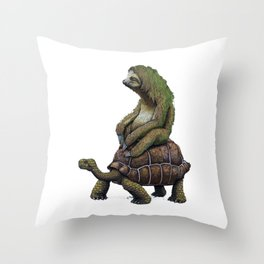 Speed is Relative 2 Throw Pillow