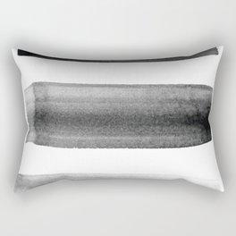 Three Brushes Rectangular Pillow