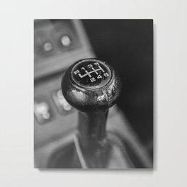 Porsche Speed Metal Print