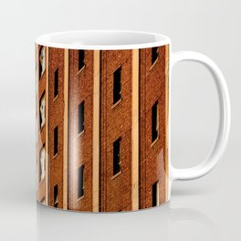 BRICK BUILDING IN THE AFTERNOON SUN - DETROIT Coffee Mug