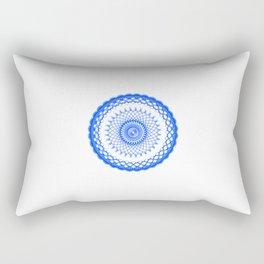 Snowflake #008 transparent Rectangular Pillow