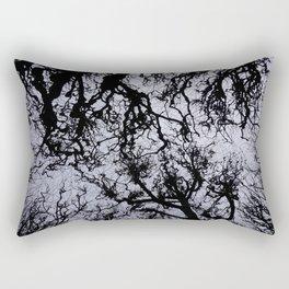 winter trees Rectangular Pillow