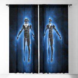 Disco god Blackout Curtain