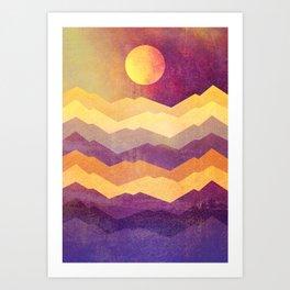 Magic Hour - The Sun Art Print