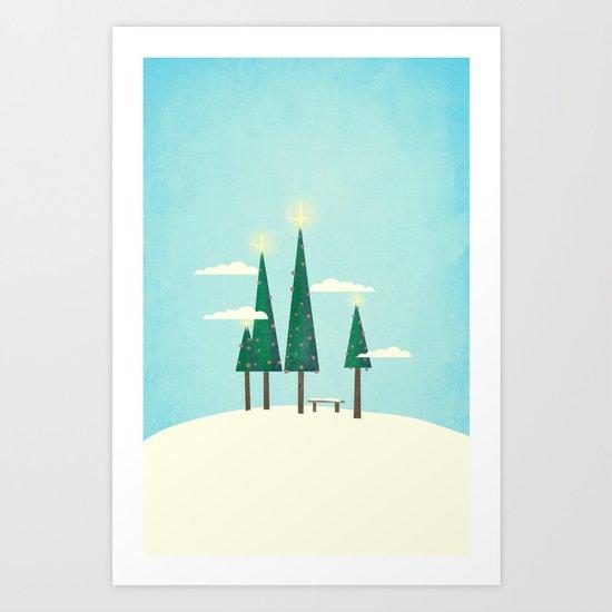 It's Always Christmas  Art Print