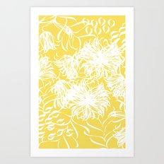 bright breezy Art Print