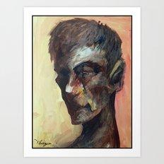 20minutes Portrait#3 Art Print