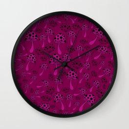 Mushroom 2 Wall Clock