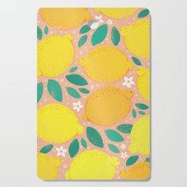 Meyer Lemons Cutting Board