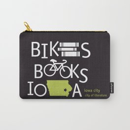 Bikes Books Iowa Carry-All Pouch