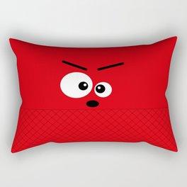 Don't get angry Rectangular Pillow