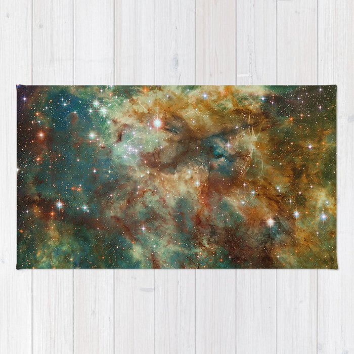 Part of the Tarantula Nebula Rug