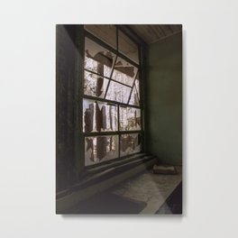 """Window Pain"" Metal Print"