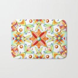 Suzani Textile Pattern Bath Mat