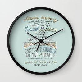 #GIRLBOSS Wall Clock