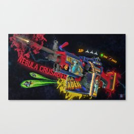 Machine Gun 10 Canvas Print