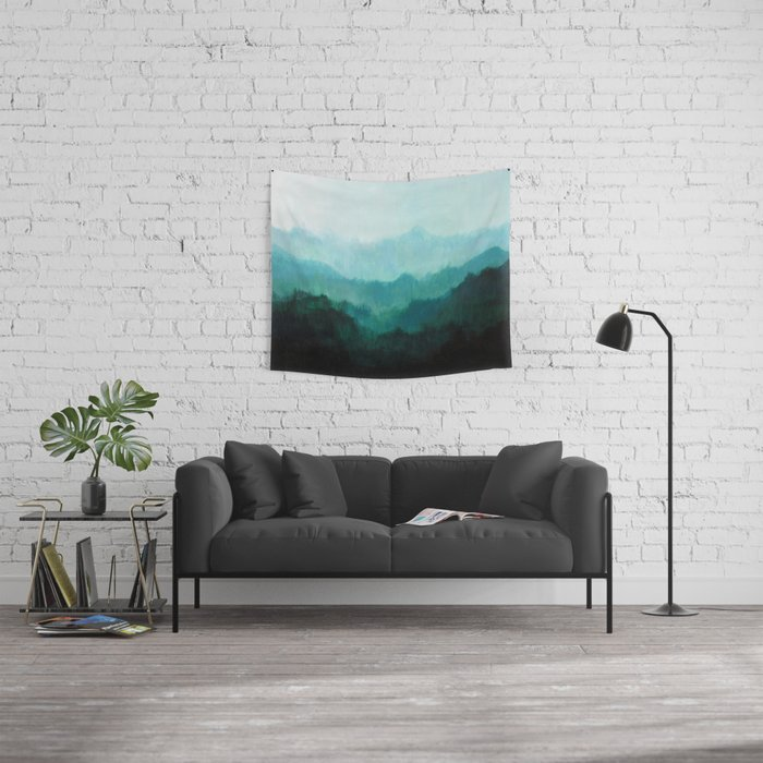 Mists No. 2 Wall Tapestry