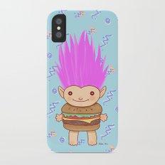 Hamburger Troll Slim Case iPhone X