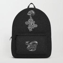 Don't Let The Bastards Grind You Down Dark Grey Backpack