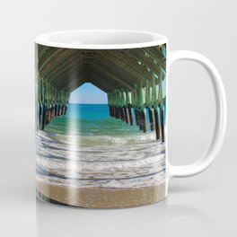 Wrightsville Beach Pier North Carolina Coffee Mug