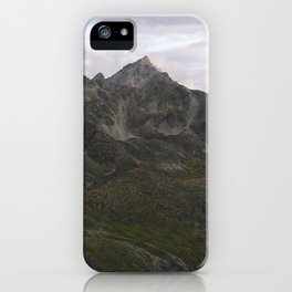 Talkeetna Range, Alaska iPhone Case