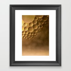 Many moons. Framed Art Print