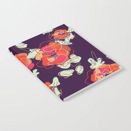 Poppy Print Notebook