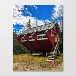 Unique Cabin in Maine Canvas Print