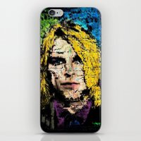 kurt cobain iPhone & iPod Skins featuring Nevermind Kurt  by brett66