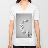 fern V-neck T-shirts featuring Fern by David P Hunter