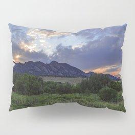 South Boulder Sunset Vista Pillow Sham