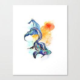 In Streams Canvas Print