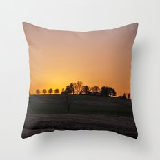 Maryland Sunset V.2 Throw Pillow
