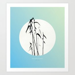[4.20—4.24] Reeds Begin to Sprout Art Print